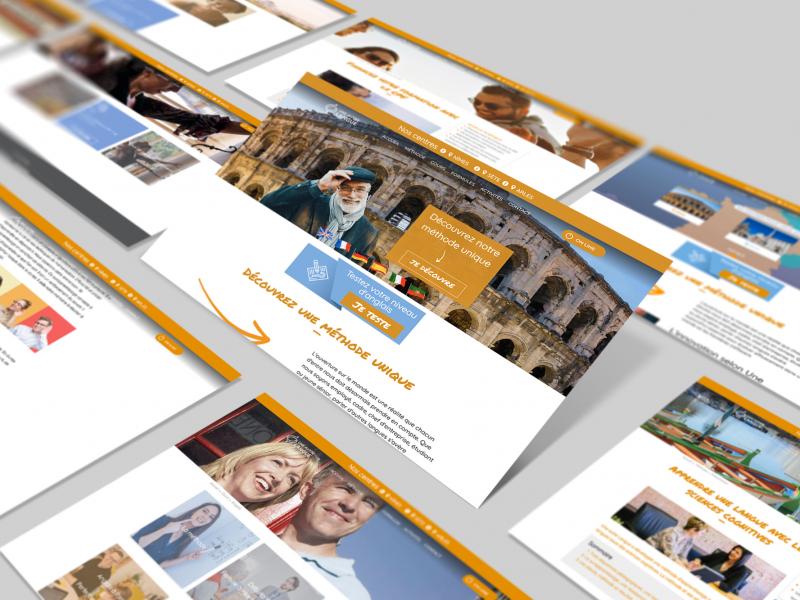 Site Web une autre Langue